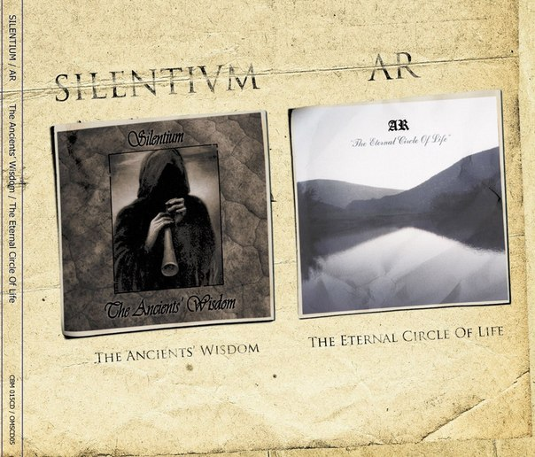 SILENTIUM / AR - The Ancients' Wisdom / The Eternal Circle Of Life (Split 2012)