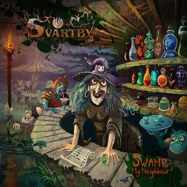 Новый альбом SVARTBY - Swamp, My Neighbour (2015)